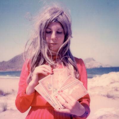 Clare Marie Bailey, '24 hr Psychic Desert Hotline II - Contemporary, Polaroid, Photograph, Figurative, Women, 21st Century', 2018