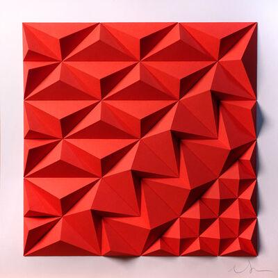 Matt Shlian, 'As Long As You Are Here (Red)', 2019