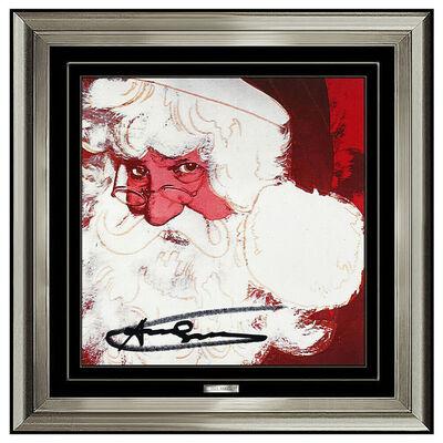 Andy Warhol, 'Andy Warhol Rare Santa Claus Color Lithograph Original Hand Signed Myths Pop Art', 1981