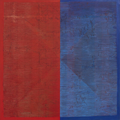 Maja Marx, 'Undertow: Red and Blue', 2017