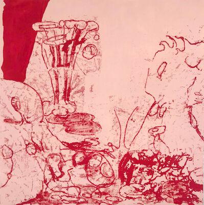 Antwan Horfee, 'Pinky Lunch in the Grass', 2020