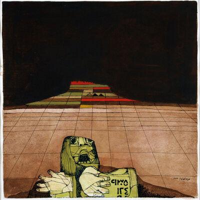 Dia Azzawi, 'Crying Woman', 1975