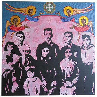 Rim El Jundi, 'Armenian Family in Los Angeles', 2010