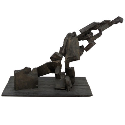 Peter Voulkos, 'Peter Voulkos Rare 1960s Bronze AB EX Asymmetrical Sculpture', 1962-1970