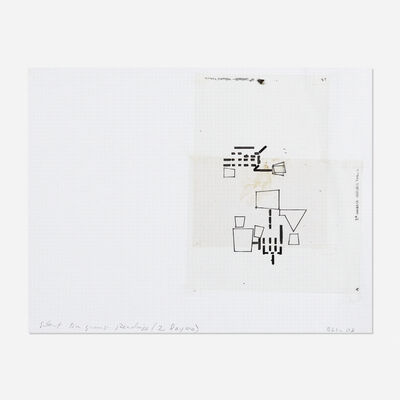 Barry Le Va, 'Silent Diagram Reading (2 layers) #4', 2008
