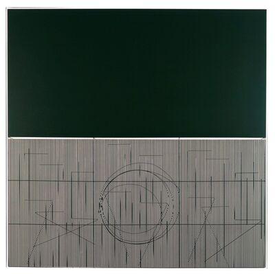 Jesús Rafael Soto, 'Escritura oliva', 2001