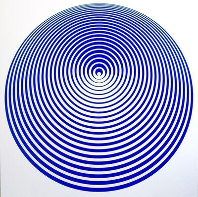 John Zoller, 'John Zoller, Orbiting In Blue ', 2016