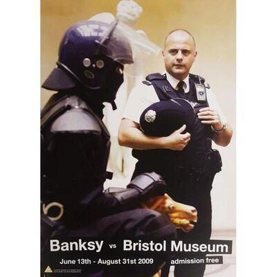 Banksy, 'Banksy vs Bristol Museum - Riot Coppers', 2009