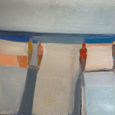 Sandy Ostrau, 'White Strand', 2021