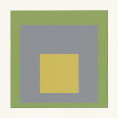 "Josef Albers, 'SP VIII (from the portfolio ""SP"")', 1967"