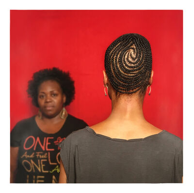 Sonya Clark, 'Hair Craft Project with Chaunda', 2014