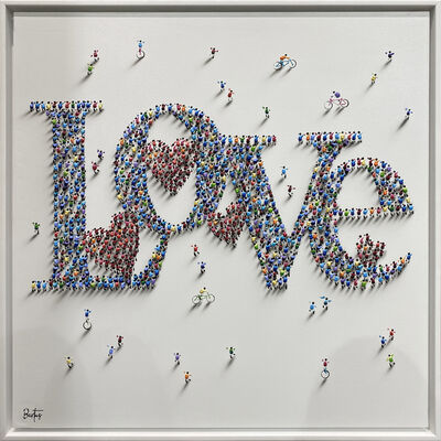 Francisco Bartus, 'With All My Love II ', 2021
