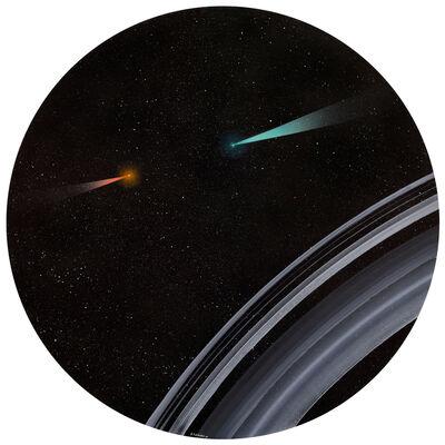 Anton Totibadze, 'Saturn rings. Long-awaited meeting', 2017