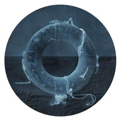 David Halliday, 'Life Preserver (Blue Print)', 2010