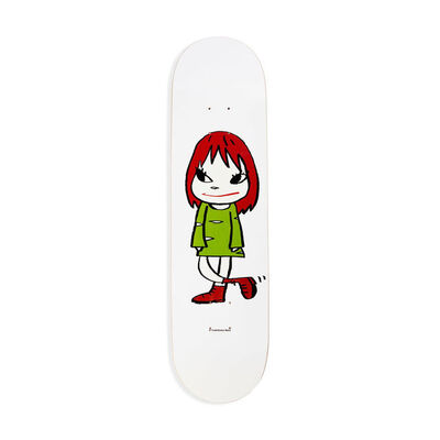 Yoshitomo Nara, 'Welcome Girl Skateboard Deck', 2017