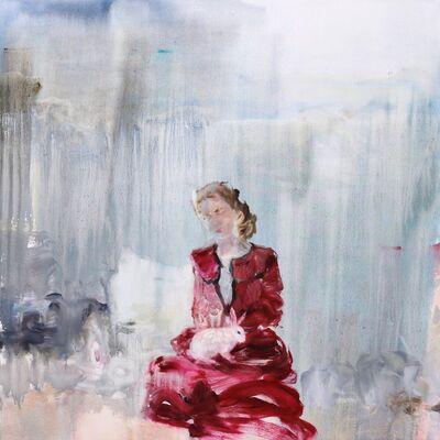 Darlene Cole, 'Kissing Trees (velvet lake)', 2019