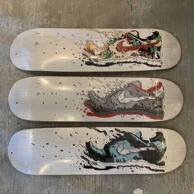 Matt Gondek, 'Exploder Dunk Skate  Artist Proof Edition', 2014
