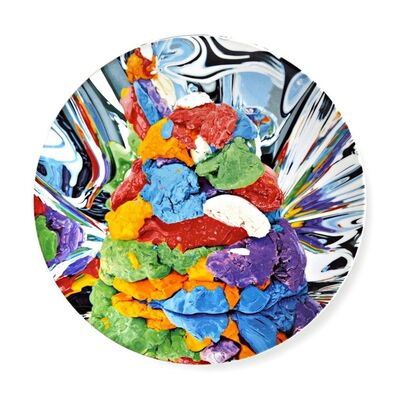 Jeff Koons, 'Play Doh Limited Edition Porcelain Plate with COA and fired in signature, in original sealed presentation box (new)', 2014