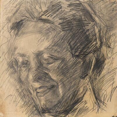 Umberto Boccioni, 'Studio per ritratto della signora Meta Quarck', 1910