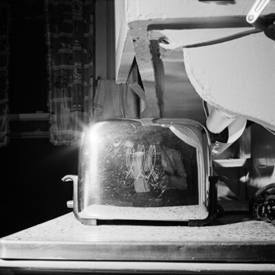 Vivian Maier, '0131514 - Self Portrait, New York, 1954, Self-Portrait Toaster', Printed 2017