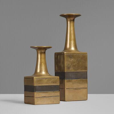 Esart, 'Vases, pair', c. 1970