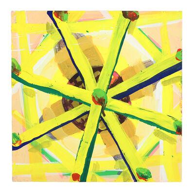 Cat Balco, 'Yellow Wheel', 2018