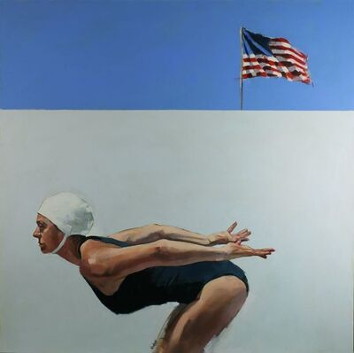 Steven Lindsay, 'Miami painting No 2', 2019