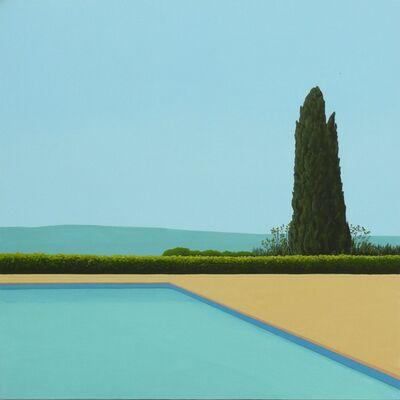 Magdalena Laskowska, 'Cypress Tree by the pool', 2019