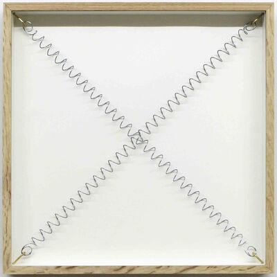Pierre-Etienne Morelle, 'tight framed cross', 2017