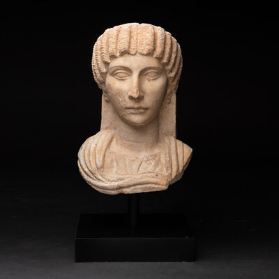 Unknown Roman, 'Roman Marble Bust of Empress Julia Mamaea ', c. 100 A.D. -200 A.D.