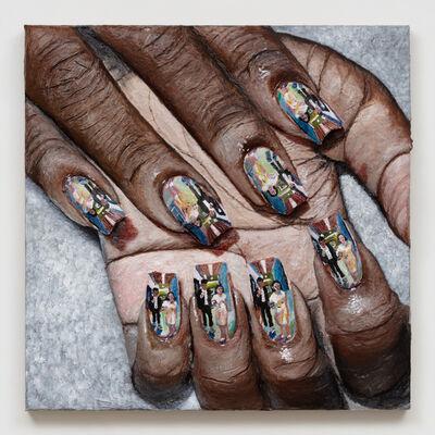 Gina Beavers, 'Liz Phair 'Parasite' Nails', 2020