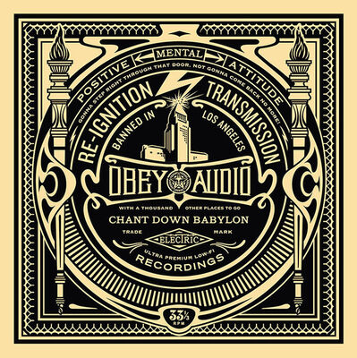 Shepard Fairey (OBEY), '50 Shades of Black Box Set: Reignition Transmission ', 2014