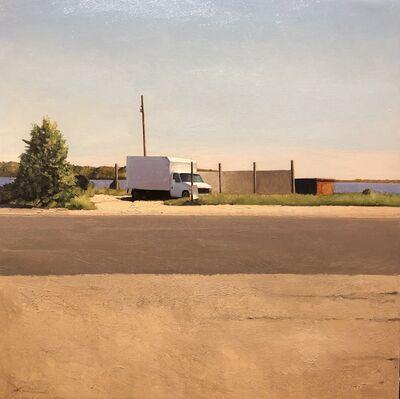 Xavier Rodés, 'Lonely truck', 2018