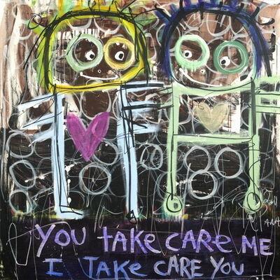 Poul Pava, 'You Take Care Me I take Care You', 2019