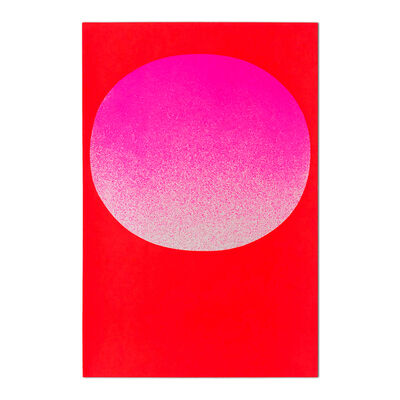 Rupprecht Geiger, 'Pink on Red (from Modulation)', 1969