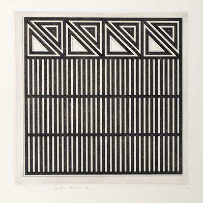 Gordon House, 'untitled grid', 1970