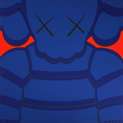 KAWS, 'What Party - Blue', 2020
