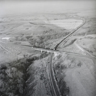 Terry Evans, 'Train and Bridge', February 13-1993