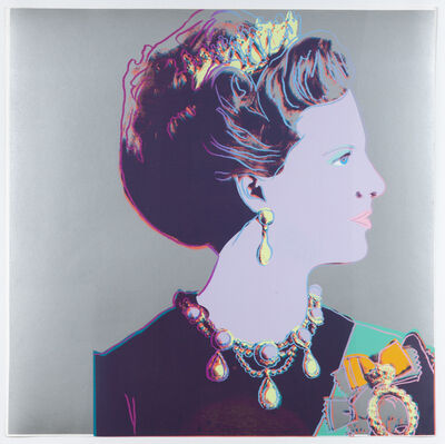 Andy Warhol, 'Queen Margrethe II of Denmark, from Reigning Queens', 1985