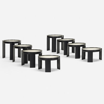 Gianfranco Frattini, '780 nesting tables, set of two', 1966