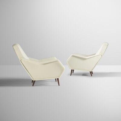 Gio Ponti, 'Rare lounge chairs, pair', c. 1948