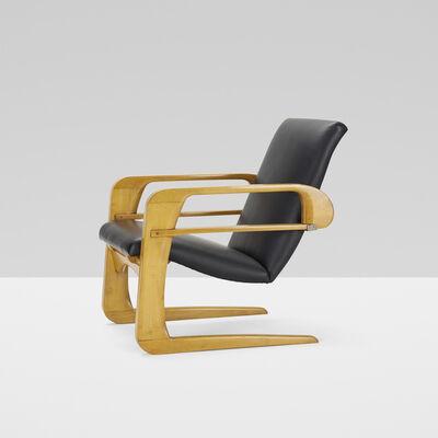 Kem Weber, 'Airline armchair', c. 1935