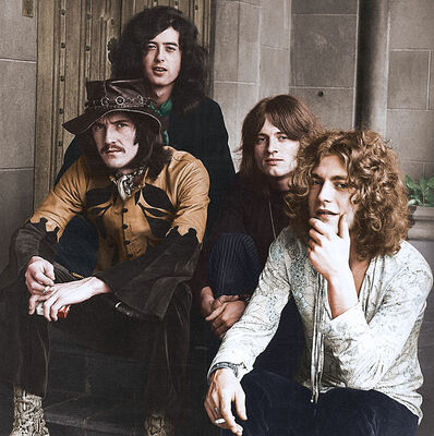 Globe Photo Archives, 'Led Zeppelin at Chateau Marmont', 1969
