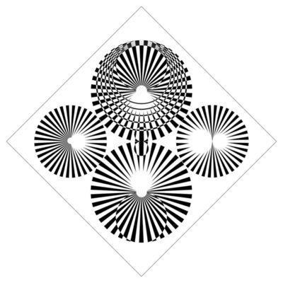 Stefano Ferracci, 'Intersezioni ottico dinamiche n°71', 2016