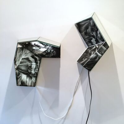 MaDora Frey, 'Glitter Stones', 2015