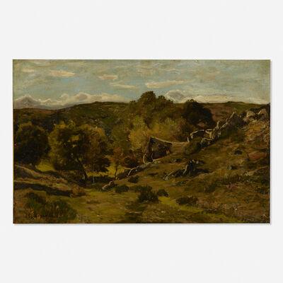 Henri-Joseph Harpignies, 'Paysage a Herisson'