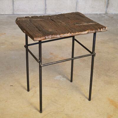 Chuck Moffit, 'Old Oak Side Table'