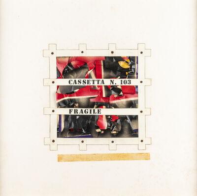 Guglielmo Achille Cavellini, 'Progetto Cassetta n.103 Fragile', 1970