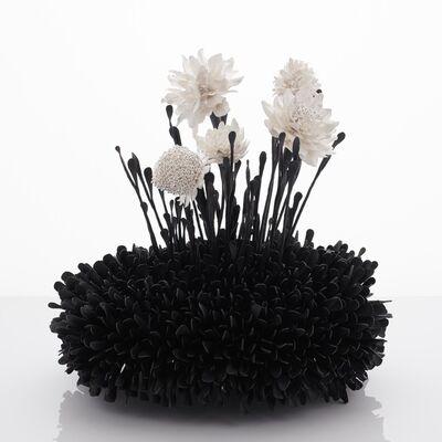 Junko Mori, 'Botany Series; Lavender Kokedama', 2019
