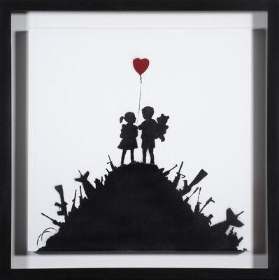 Banksy, 'Kids On Guns (Painting)', 2003